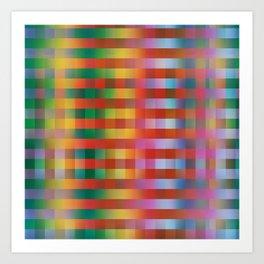 Fall/Winter 2016 Pantone Color Pattern Art Print