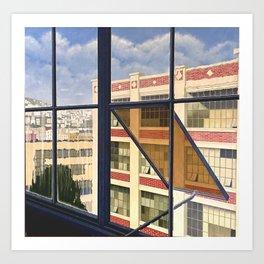 Artaud Studio View Art Print