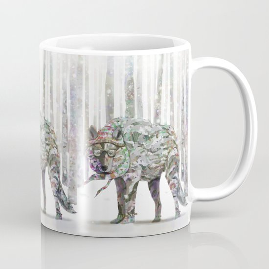 Winter Wonder Dog Coffee Mug