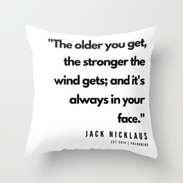 31    | Golf Quotes | 190606 Throw Pillow
