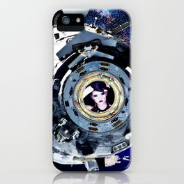 Objects in Space iPhone Case