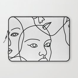 Surreal Faces Laptop Sleeve