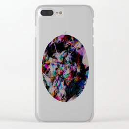 Nights in White Satin Clear iPhone Case