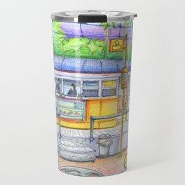 banana cafe Travel Mug