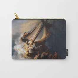 The Storm on the Sea of Galilee, Rembrandt Carry-All Pouch