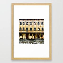 Santa Croce Building Framed Art Print