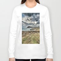 ruben ireland Long Sleeve T-shirts featuring Ireland Calls by Christine Workman
