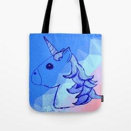 Blurple The Unicorn (A Portrait) Tote Bag