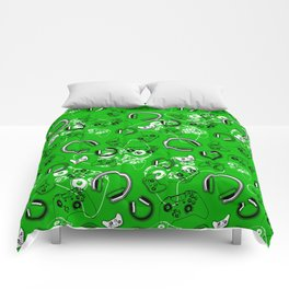 Gamers-Green Comforters