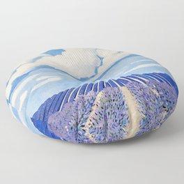 Lavender Fields Forever  Floor Pillow