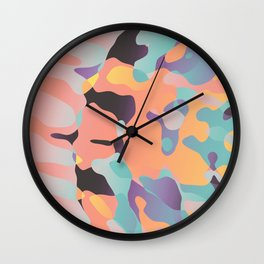 Planetary Fragmentation Wall Clock