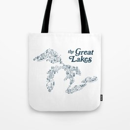 The Greatest Lakes Tote Bag
