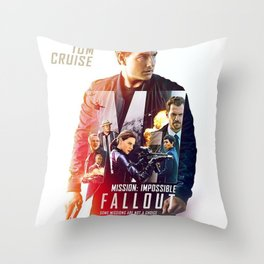 Mission Impossible 2018 Throw Pillow