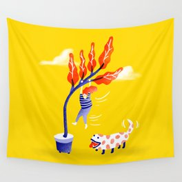 The New Dog Wall Tapestry