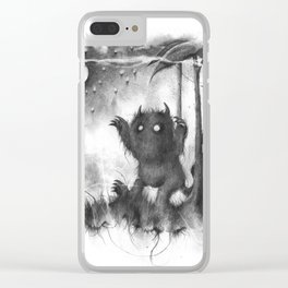 The Wild Rumpus Clear iPhone Case