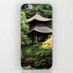 Garden tempel iPhone & iPod Skin