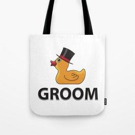 Groom Rubberduck Gift Tote Bag