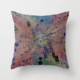 Inverted Math Throw Pillow