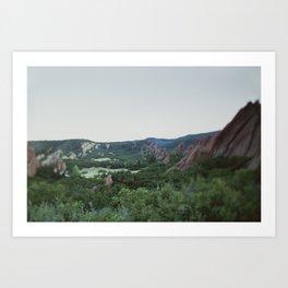 Series: The Scenery Art Print