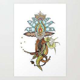 20000 Lieues Art Print