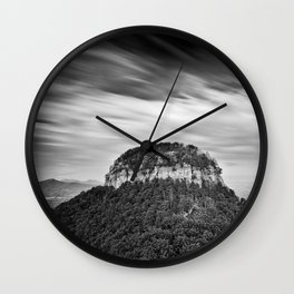 Pilot Mountain 2 Wall Clock