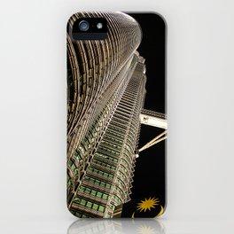 Petronas Twin Towers iPhone Case