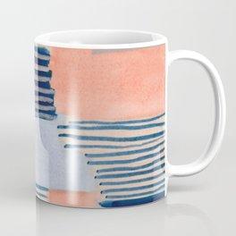 salmon & blue Coffee Mug