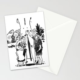 Ladies having fun Stationery Cards