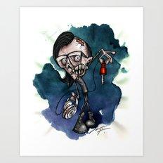 Zombie Skrillex / Special Edition Art Print