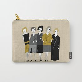 Meet the Bright Young Sisters Carry-All Pouch