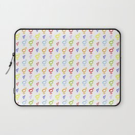Symbol of Transgender 34 Laptop Sleeve