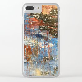 Waters edge Clear iPhone Case