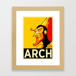 Arch-Monarch Framed Art Print