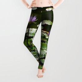 Waterlilies Leggings