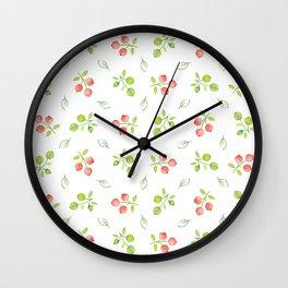 Redcurrant Wall Clock