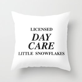 day care Throw Pillow