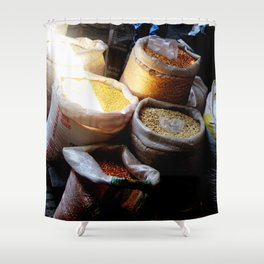 Mercado in Sunbeam Shower Curtain