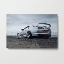 Toyota Supra TRD Metal Print