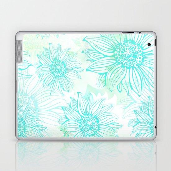 Flowery Laptop & iPad Skin