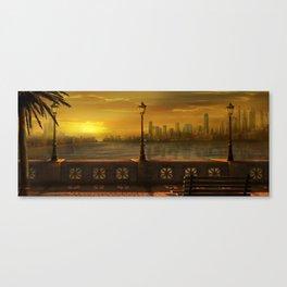 Coast Canvas Print
