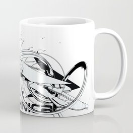 3d graffiti technica - Wildstyle Coffee Mug Coffee Mug