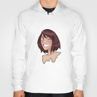risa rodil Hoodies featuring Risa by Laura Monaghan Illustration