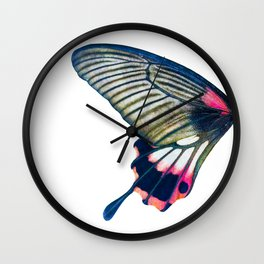 Butterfly left wing - find the right wing in my store :) Wall Clock