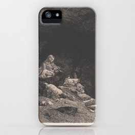 Saint Mary of the Jura Mountains,ca. 1830 iPhone Case