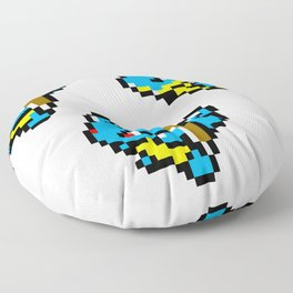 Squirtle Pixel Evolution Floor Pillow