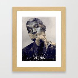 YEE ZUS - the only rapper compared to michael Framed Art Print