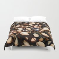 feet Duvet Covers featuring feet by Rick Onorato