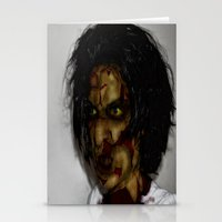 zombie Stationery Cards featuring Zombie!!  by Jake Stanton
