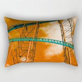 Towering Tracks Rectangular Pillow