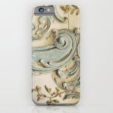 Blue Lace of Versailles iPhone 6 Slim Case